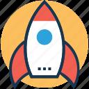 launch, missile, rocket, spacecraft, startup