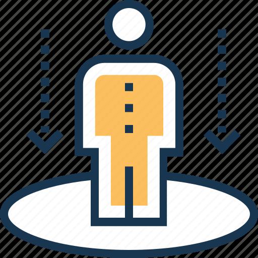 employment, human resource, management, personalization, staff icon
