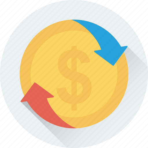 currency value, dollar, dollar rate, foreign exchange, profit icon