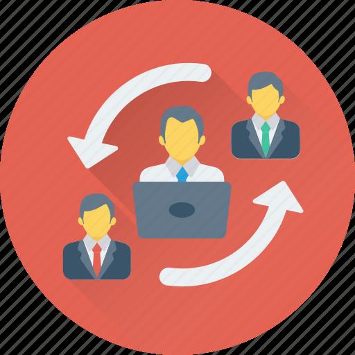 business group, organization, people, team, teamwork icon