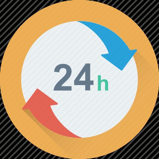 customer service, full service, helpline, support line, twenty four hours icon