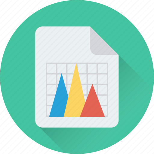 business report, graph report, pyramid graph, report, statistics icon