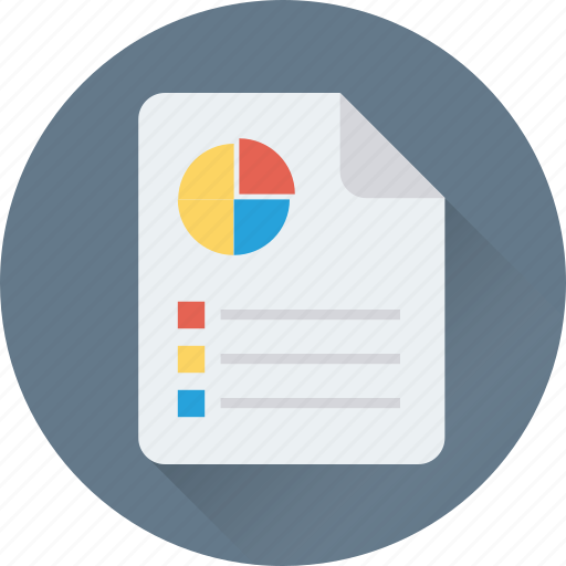 Financial report, graph report, pie graph, report, statistics icon - Download on Iconfinder