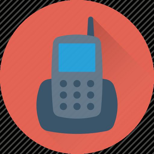 communication, cordless phone, phone, transceiver, walkie talkie icon
