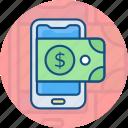 bank, card, mobile, money, online, smart phone, transfer