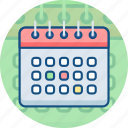 calendar, celebration, date, day, event, holiday, schedule icon