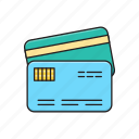 atm, debit, credit, card, pay icon