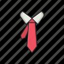 office, professional, shirt, tie, wear