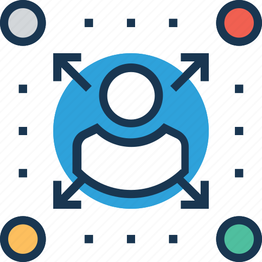affiliate, channels, distribution channels, network, people connection icon