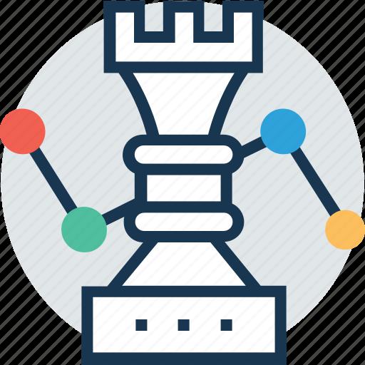 business strategy, development, market strategy, strategy, technology icon