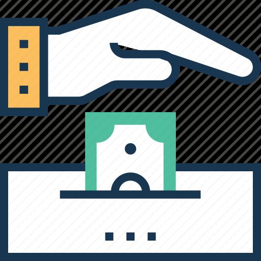 benefaction, contribution, donation, participants, payment icon