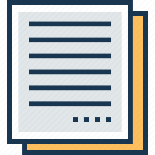 documents, file, notes, text sheet, word sheet icon