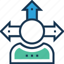 abilities, capability, potential, user, user capacity icon