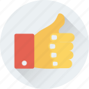 hand gesture, like, ok, social like, thumbs up icon