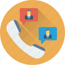 call, communication, receiver, support, talk icon