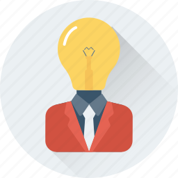 creative mind, idea, innovation, invention icon