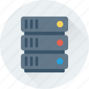 database, network share, networking, server, server shared icon