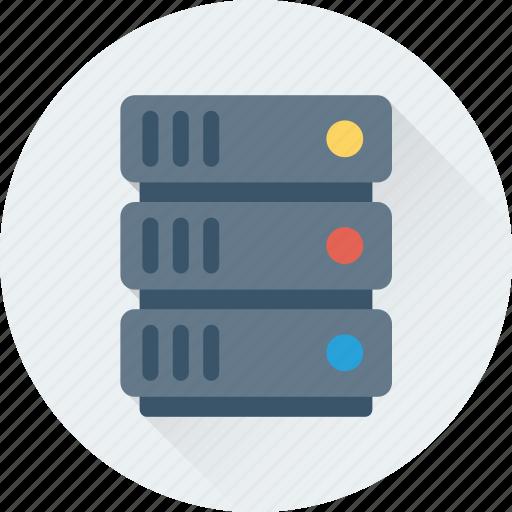 database, network share, networking, server, server shared icon