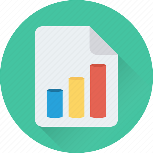 analysis, financial report, graph report, report, statistics icon