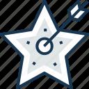 aim, mind awareness, objective, star, target