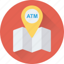 atm, atm locator, exact location, map location, placeholder icon