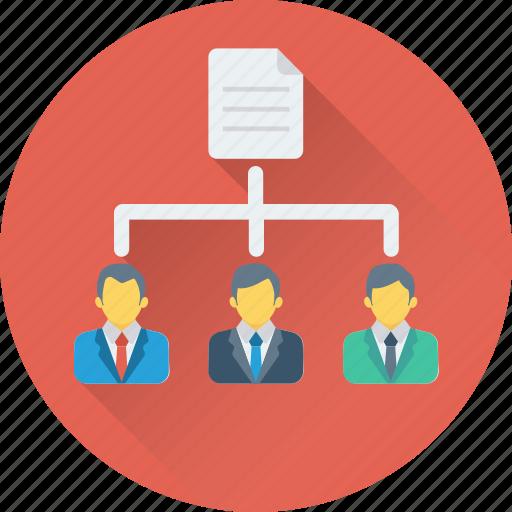 hierarchy, network, team, team hierarchy, workflow icon