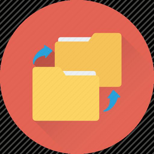 data, data exchange, data share, folder, folder share icon