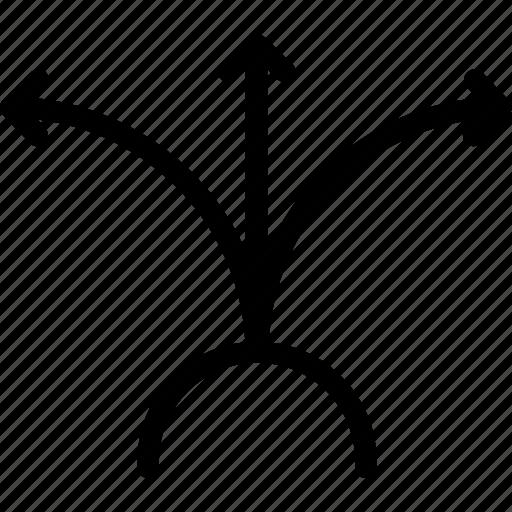 arrows, directional, expansion arrows, move arrows, valuation arrows icon
