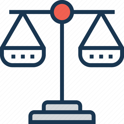 balance, court, justice scale, law, legal icon