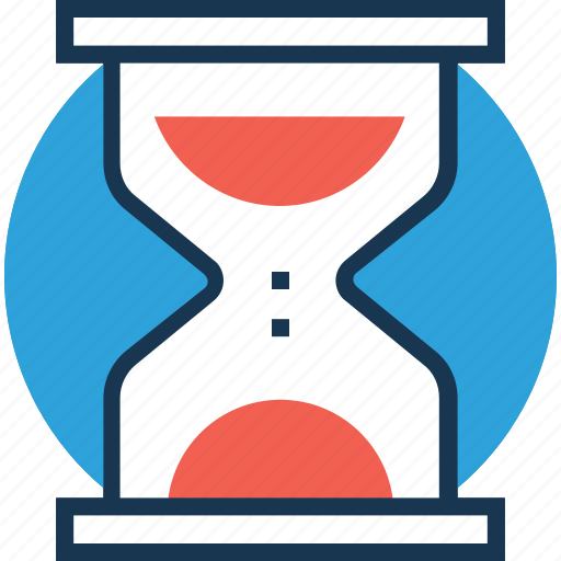 deadline, egg timer, hourglass, processing, timer icon