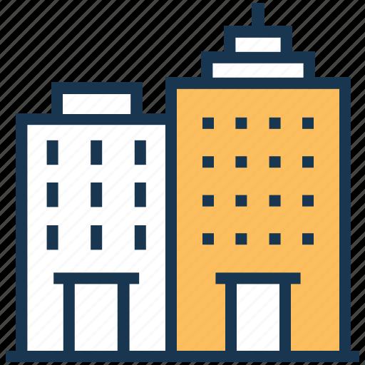 building, city building, office building, real estate, skyscraper icon