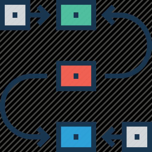 Flow diagram planning scheme task analysis workflow icon icon flow diagram planning scheme task analysis workflow icon ccuart Gallery