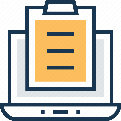clipboard, copy testing, office documents, sky docs, testing icon
