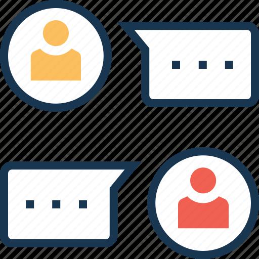 chat, chat balloon, chat bubbles, conversation, speech bubble icon