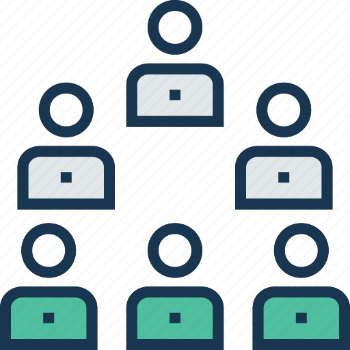 employees, group, people, team, workforce icon
