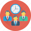 business time, clock, investment, schedule, timer icon