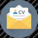 biodata, job application, job profile, cv, resume icon