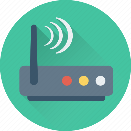 antenna, booster router, router, wifi, wlan icon