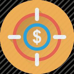 aim, business target, crosshair, focus, target icon