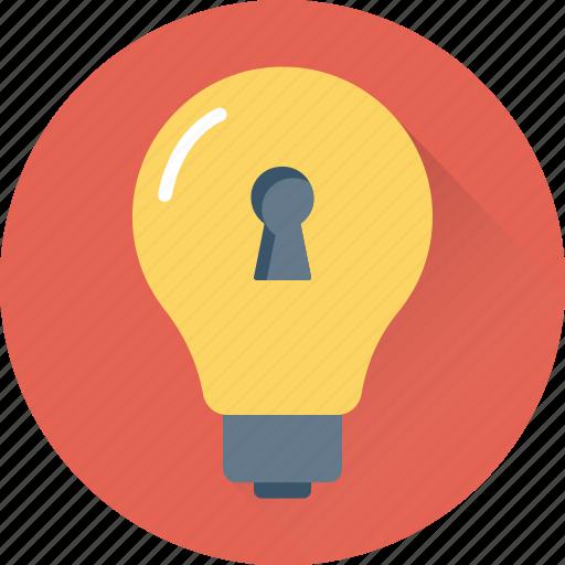 bulb, electric light, light, light bulb, luminaire icon
