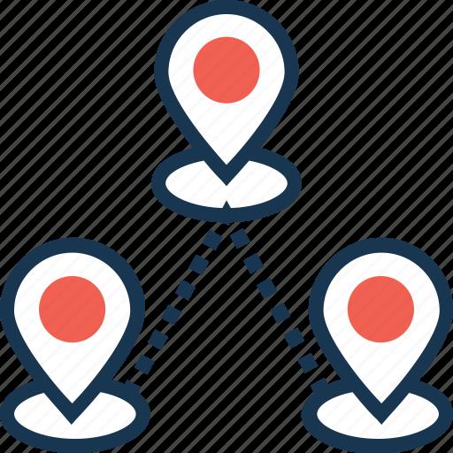 direction, direction pin, location, location pin, navigation icon