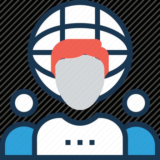 group, people, team, teamwork, virtual team icon