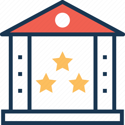 business ranking, business valuation, home, house, market approach icon
