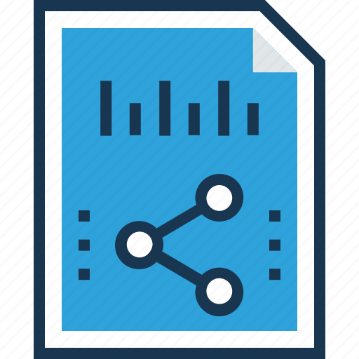 distribute, document, sharing, sharing file, sharing results icon
