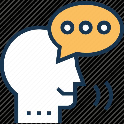 bubble, speaking, speech, speech analytics, speech bubble icon