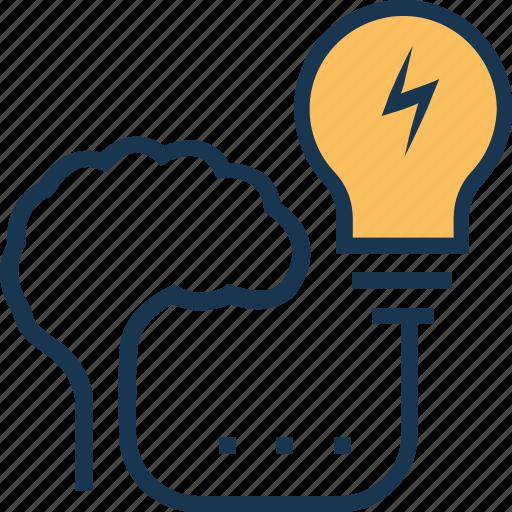 business idea, generate idea, idea, idea develop, stimulation icon