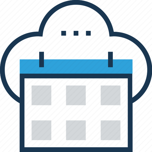 appointment, calendar, event, event processing, timeframe icon