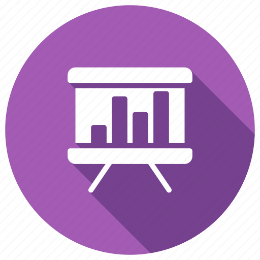 board, chart, graph, presentation, statistics icon