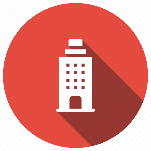 building, estate, hotel, office, real icon
