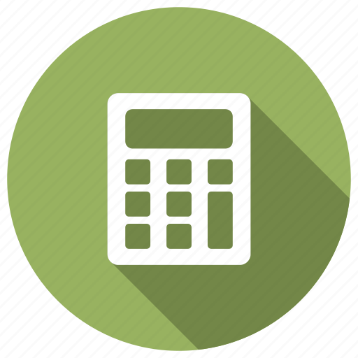 banking, calculation, calculator, math icon